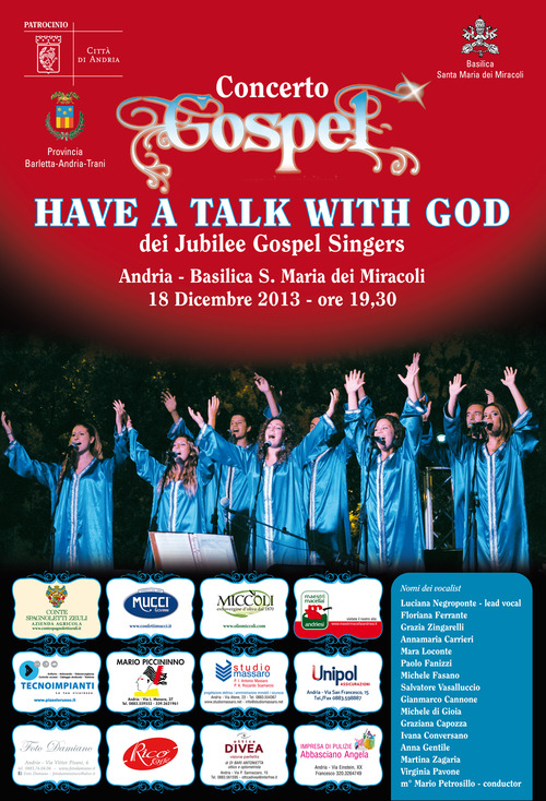 Have a talk with God